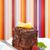 cake · chocolade · glans · plaat · bessen · kleurrijk - stockfoto © icefront