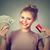 女性 · ショッピング · 行 · クレジットカード - ストックフォト © ichiosea