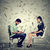 man and woman using laptop building online business making money stock photo © ichiosea