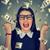 donna · estatica · successo · soldi · pioggia · cadere - foto d'archivio © ichiosea