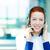 femenino · servicio · al · cliente · representante · primer · plano · retrato · jóvenes - foto stock © ichiosea