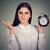 strict woman with alarm clock stock photo © ichiosea