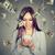 mujer · dinero · dólar - foto stock © ichiosea