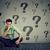 бизнесмен · многие · вопросы · работу · человека - Сток-фото © ichiosea