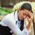 fiatal · indiai · nő · néz · csalódott · felnőtt - stock fotó © ichiosea