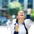 üzletasszony · ünnepel · siker · közelkép · portré · boldog - stock fotó © ichiosea