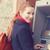 jovem · caixa · eletrônico · menina · utilidade · mulher - foto stock © ichiosea