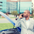 man · roepen · mobieltje · auto · ongeval · mannelijke - stockfoto © ichiosea