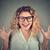 счастливым · Crazy · возбужденный · женщину · кричали · указывая - Сток-фото © ichiosea
