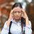 portré · szomorú · nő · negatív · érzelem · arckifejezés - stock fotó © ichiosea