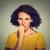 nerwowy · kobieta · pragnienie · coś - zdjęcia stock © ichiosea