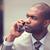 深刻 · アフリカ · 男 · 立って · 携帯電話 · アフリカ系アメリカ人 - ストックフォト © ichiosea