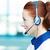 Female customer service representative stock photo © ichiosea