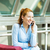 business woman on a phone stock photo © ichiosea