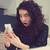 angstig · geschokt · zakenvrouw · naar · telefoon - stockfoto © ichiosea