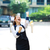女性実業家 · 祝う · 成功 · クローズアップ · 肖像 · 幸せ - ストックフォト © ichiosea
