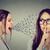 nő · néz · középkorú · ujj · rosszallás · izolált - stock fotó © ichiosea