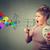 woman screaming in megaphone propaganda social media communication concept stock photo © ichiosea