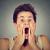 teen · chłopca · krzyczeć · portret · ręce - zdjęcia stock © ichiosea