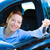 happy woman showing keys from her new car stock photo © ichiosea
