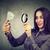 女性実業家 · 見える · 虫眼鏡 · 表示 · アフリカ - ストックフォト © ichiosea