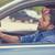 bêbado · homem · volante · carro · potável · masculino - foto stock © ichiosea