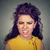 arrabbiato · giovani · donna · nervoso · primo · piano - foto d'archivio © ichiosea