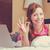 счастье · линия · торговых · кредитных · карт · девушки · счастливым - Сток-фото © ichiosea