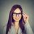 улыбаясь · девушки · очки · оптик - Сток-фото © ichiosea