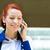 portrait corporate woman talking on smart phone stock photo © ichiosea