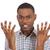 zangado · louco · homem · as · mãos · levantadas · retrato - foto stock © ichiosea