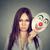 портрет · гнева · клоуна · изолированный · белый · красный - Сток-фото © ichiosea