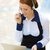 顧客サービス · 代表 · 女性実業家 · クローズアップ · 肖像 · 小さな - ストックフォト © ichiosea
