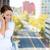 student · praten · mobiele · telefoon · vrouwelijke · vrouwen - stockfoto © ichiosea