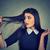 conmocionado · mujer · pelo · sufrimiento · pérdida · problema - foto stock © ichiosea