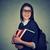student · matematyka · liczydło · biały · papieru · książki - zdjęcia stock © ichiosea