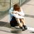 szomorú · multitaszking · nő · fáradt · tart · sok - stock fotó © ichiosea