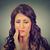 женщину · чувствительный · зубов · боль · корона · проблема - Сток-фото © ichiosea