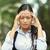 üzgün · Hint · kız · aile · açık · ebeveyn - stok fotoğraf © ichiosea
