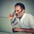человека · очки · зрение · путать · ноутбука - Сток-фото © ichiosea
