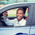 happy smiling young man buyer sitting in his new blue car showing keys stock photo © ichiosea