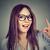 очки · женщину · очки · улыбаясь · счастливым - Сток-фото © ichiosea
