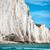 hét · nővérek · sziklák · dél · Sussex · égbolt - stock fotó © ifeelstock