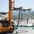 forklift with yacht crane stock photo © ifeelstock