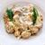 spagetti · húsgombócok · közelkép · levelek · vacsora · hús - stock fotó © ifeelstock
