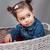 портрет · один · год · улыбаясь · ребенка - Сток-фото © igabriela