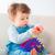 baby · jongen · spelen · speelgoed · gelukkig · maanden - stockfoto © igabriela