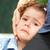 ontdaan · portret · meisje · huilen - stockfoto © igabriela