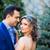 portre · yeni · evliler · açık · çiçekler · düğün · ahşap - stok fotoğraf © igabriela