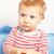 bonitinho · menino · raiva · isolado · branco · crianças - foto stock © igabriela